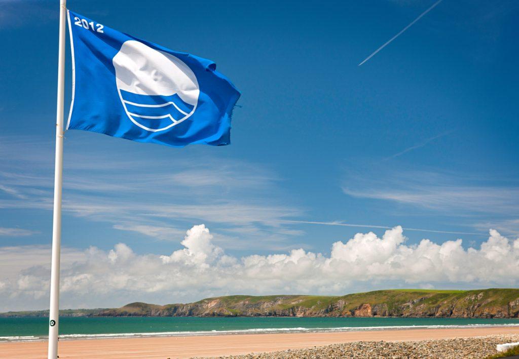 """""""blue flag"""" praias irlanda"""
